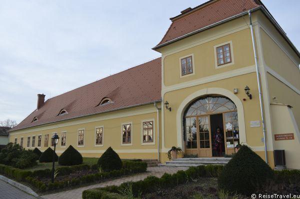 Balatonkeresztür am Balaton in Ungarn,