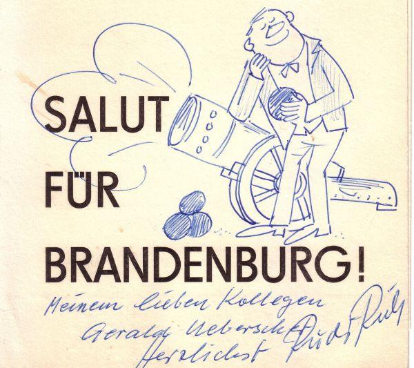 Rudi Riebe Salut für Brandenburg by ReiseTravel.eu