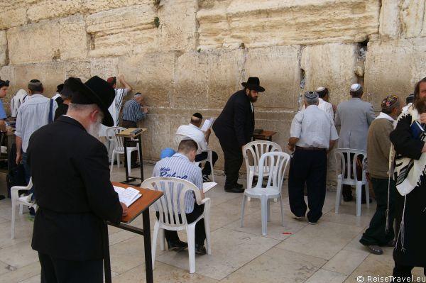 Klagemauer der Juden in Jerusalem